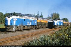 RailPictures.Net Photo: GN 312A Great Northern EMD F7(A) at Floodwood, Minnesota by Doug Wingfield