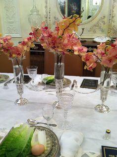Elegant Seder Table