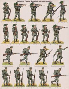 Papercraft Anime, Digimon, Free Paper Models, Italian Army, Confederate Flag, Jumping Jacks, Toy Soldiers, World War, Art Reference
