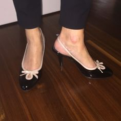NWOT naturalizer black and nude heels Willing to negotiate price Naturalizer Shoes Heels