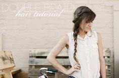 Sincerely, Kinsey: Double Braid Hair Tutorial