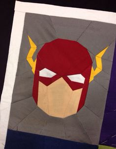 FLASH Pattern SUPERHERO QUILT by wolftlou on Etsy, $6.20