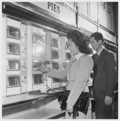 Pie section of an Automat, New York, NY, 1944. Calisphere/UC Berkeley.