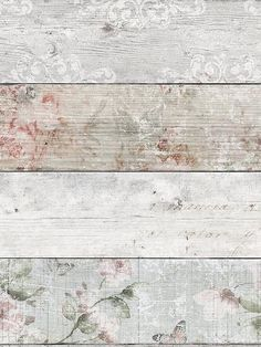Superfresco Distressed Wood Floral Wallpaper Create a chic lodge look in your space with this beautiful wallpaper from Graham & Brown's Superfresco range. The distressed wood design is overlaid with a stunning floral pattern, creating a unique contrast between delicate elegance and classic rustic charm. With hints of green and pink leaping from each of the coloured planks, it makes the perfect finishing touch to an eye-catching feature wall, yet it's still subtle enough to be hung around ...
