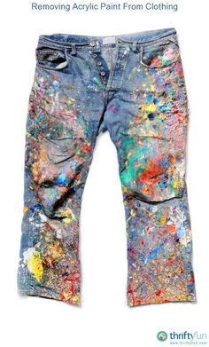 Once this paint has dried it can be nearly impossible to remove from many fabrics. This is a guide about removing acrylic paint from clothing.