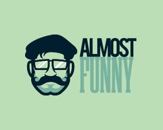 Almost Funny Funny Images, Funny Pictures, Face Icon, Facebook Humor, Moustache, Logo Inspiration, More Fun, Funny Jokes, Logos
