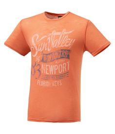 Tee shirt Man DELOR orange