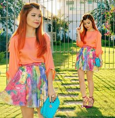 Leticia Oliveira - Malacco Skirt - Spring
