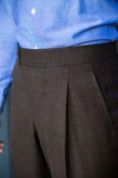 bespoke Ambrosi trousers