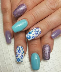 Day 89: Unicorn and Seahorse Nail Art - - NAILS Magazine