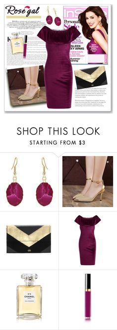 """""""Rosegal 41."""" by ruza-b-s ❤ liked on Polyvore featuring Vince Camuto and Chanel"""