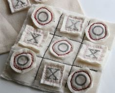 TIC TAC TOE CCraft Tutorials Galore at Crafter-holic!: Things to Make