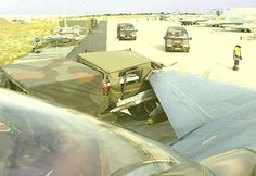 F-15 strikes military vehicle