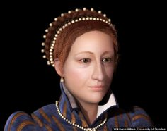 Mary, Queen of Scots facial reconstruction