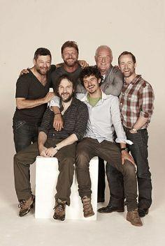 Peter Jackson, Andy Serkis, Billy Boyd, Sean Bean, Orlando Bloom