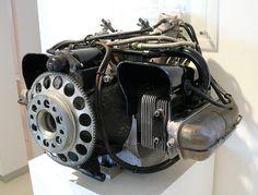 Porsche Flugmotor aircraft engine 978-3 1958