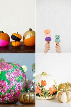 Fun and unique ways to decorate your home this Halloween. I've got some great ideas for you! These pumpkin decorating ideas are fun, stylish and chic.
