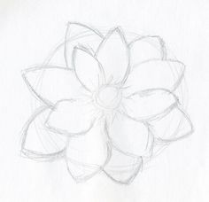 simple drawings of flowers - Google Search. For Mya