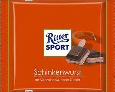 Ritter SPORT - Schinkenwurst