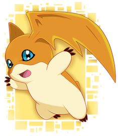 S1 Patamon by SarahRichford.deviantart.com on @DeviantArt