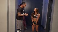 Aww so cute and I love AJ Lee in this!+
