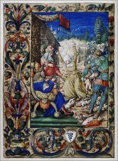 Hours of Bona Sforza. Queen of Poland.