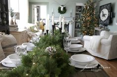 Our Christmas Home Tour from 2015   Jeanne Oliver