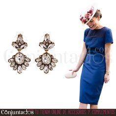 Por su tamaño discreto y sus tonos neutros, los #pendientes Agatha quedan fabulosos con tocados ★ 9,95 € en https://www.conjuntados.com/es/pendientes-de-cristales-transparentes-agatha.html ★ #novedades #earrings #conjuntados #conjuntada #joyitas #lowcost #jewelry #bisutería #bijoux #accesorios #complementos #moda #fashion #fashionadicct #picoftheday #outfit #estilo #style #GustosParaTodas #ParaTodosLosGustos