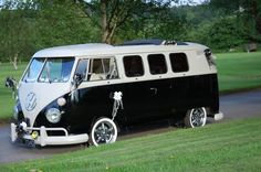 Beatrice looking all polished! With poshpampacampa VW campers fir weddings, proms, special occasions and self-hire.