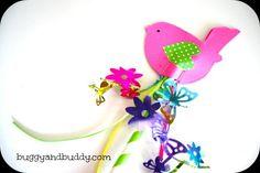 DIY Children's : DIY Make a Spring Wand