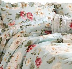 Ideas shabby chic bedding sets target duvet covers for 2019 Target Shabby Chic Bedding, Shabby Chic Duvet, Romantic Bedding, Duvet Bedding Sets, Luxury Bedding Sets, Comforters, Floral Bedding, Country Bedding Sets, Blue Duvet