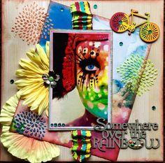 Over the Rainbow - Scrapbook.com