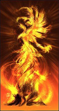 Tattoo Dragon Fire Phoenix Rising 54 Best Ideas