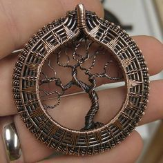 Tree of life in copper twists