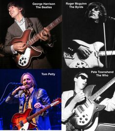 What do & the Heartbreakers, & have in common? The gave its shimmering sound to some of the most innovative and experimental bands ever. Guitar Photography, Tom Petty, Body Electric, Classic Rock, No One Loves Me, The Beatles, Rock And Roll, Guitars, Musicians