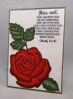Rose Wonder by CraftyAng - Cards and Paper Crafts at Splitcoaststampers