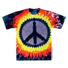 Peace Youth Tie Dye T Shirt