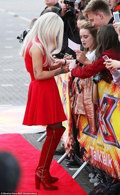 Rita Ora goes retro as she makes her X Factor judging debut 8f47404fe92