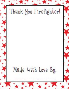 October is Fire Prevention Month and a great time for your students to thank a firefighter. I created these free Thank a Firefighter pages. Classroom Freebies, Preschool Classroom, Preschool Ideas, Classroom Ideas, Preschool Assessment, Daycare Ideas, Classroom Activities, Teaching Ideas, Fire Prevention Month