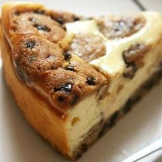 3 Step Cookie Dough Cheesecake  This dessert would be great for church fellowships, parties or family  parties.
