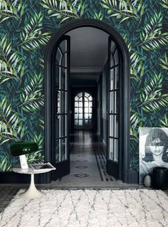 self adhesive wallpaper removable wallpaper tropical wall