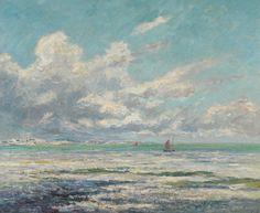 Maxime Maufra - Marées basse à Kerhostin, 1913 | Flickr - Photo Sharing!