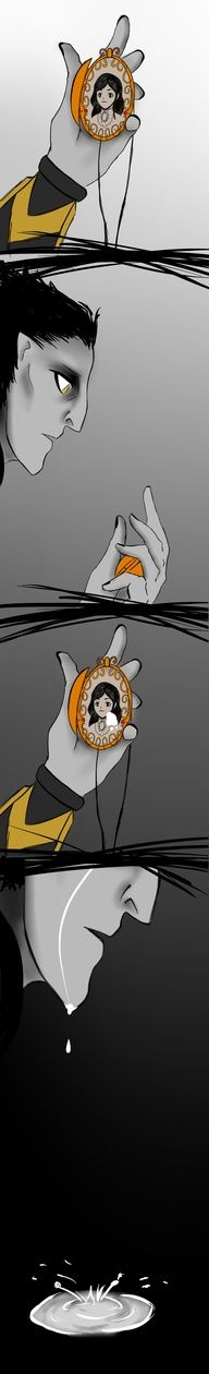 (girl in locket is mother nature his daughter)