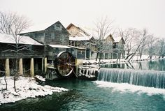 The historic Old Mill at Christmas time in Pigeon Forge. We will be having lunch here. Last time here was with my brother. Going to make another memory. Miss you bubba RIP. you will always be with me.