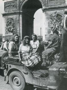 Liberation of Paris, August, 1944