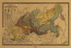 Этнографическая карта Азиатской России. 1895 год. (Карта из Библиотеки Конгресса США). 3455 КБ. 3712х2509 px. Составитель М. Венюков.