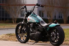 Custom Dyna, from Southeast Custom Cycles in North Carolina. Super low center of gravity.