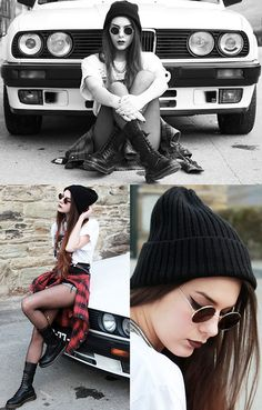 Lord won't you buy me a bmw (by Holynights CH) http://lookbook.nu/look/4632489-Levis-Plaid-Shirt-Dr-Martens-Boots-Lord-Won-T-You-Buy-Me-A