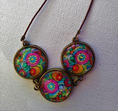 Halskette/necklace and earclisp