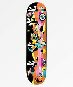 8.25 8.375 ICE DRAGON Canadian Maple Skateboard Deck 8.0